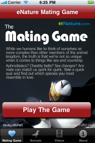 eNature Mating Game - Educational App