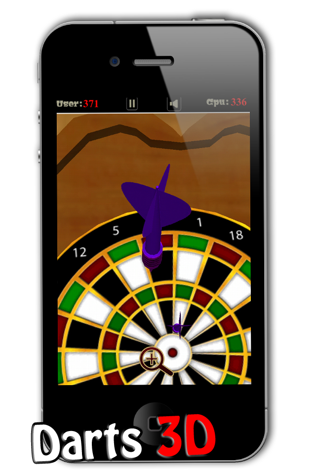 Screenshot Darts 3D